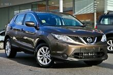 2015 Nissan Qashqai J11 ST Truffle Bronze 1 Speed Constant Variable Wagon Wangara Wanneroo Area Preview