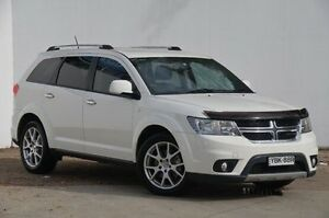 2013 Dodge Journey JC MY13 R/T White 6 Speed Automatic Wagon Blacktown Blacktown Area Preview