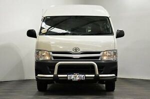 2011 Toyota Hiace KDH221R MY11 Super LWB White 4 Speed Automatic Van