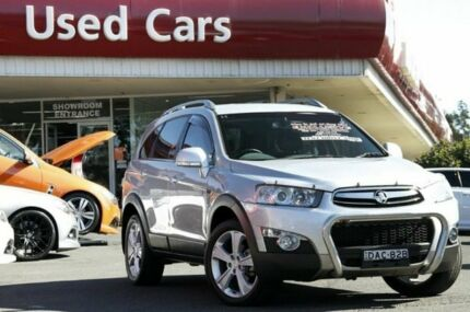 2012 Holden Captiva CG Series II 7 LX Silver 6 Speed Auto Seq Sportshift Wagon Liverpool Liverpool Area Preview