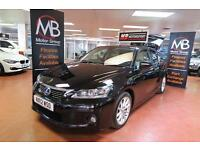 2012 LEXUS CT 200h 1.8 SE L CVT Auto Full Leather Heated Sport Seats AUX USB
