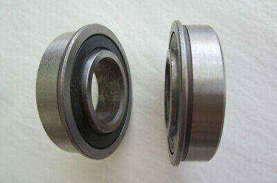 One R16-2rs 2 Rubber Seals With Flange 1 Id X 2 Od X 12 Ball Bearing 1641