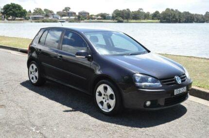 2007 Volkswagen Golf 1K 2.0 TDI Comfortline Black 6 Speed Direct Shift Hatchback Croydon Burwood Area Preview