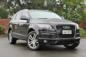 2008 Audi Q7 MY08 TDI Quattro Black 6 Speed Sports Automatic Wagon Medindie Gardens Prospect Area Preview