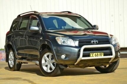 2007 Toyota RAV4 ACA33R Cruiser Grey 5 Speed Manual Wagon Lansvale Liverpool Area Preview