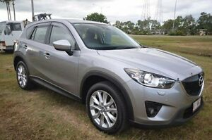 2014 Mazda CX-5 KE1021 MY14 Grand Touring SKYACTIV-Drive AWD Silver 6 Speed Sports Automatic Wagon Vincent Townsville City Preview