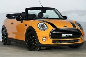 2016 Mini Convertible F57 Cooper Volcanic Orange 6 Speed Automatic Convertible Alexandria Inner Sydney Preview