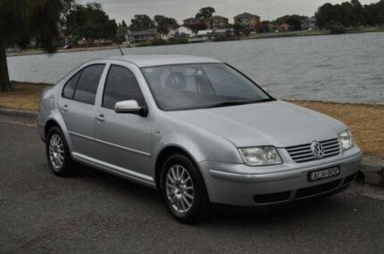 2002 Volkswagen Bora 1J 2.0 Silver 4 Speed Automatic Sedan