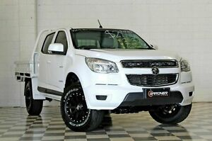 2012 Holden Colorado RG LX (4x2) White 6 Speed Automatic Crewcab Burleigh Heads Gold Coast South Preview