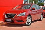 2014 Nissan Pulsar B17 ST Red 1 Speed Constant Variable Sedan Dandenong Greater Dandenong Preview