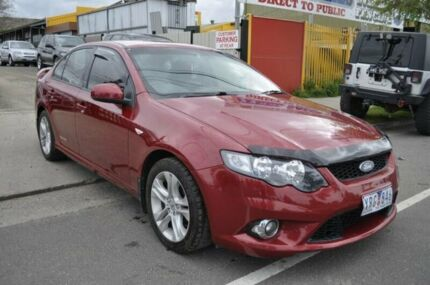 2009 Ford Falcon FG XR6 (LPG) Red 4 Speed Auto Seq Sportshift Sedan Hoppers Crossing Wyndham Area Preview