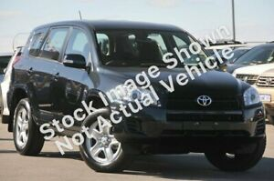 2010 Toyota RAV4 ACA38R MY09 CV 4x2 Black 4 Speed Automatic Wagon Castle Hill The Hills District Preview