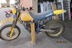 SUZUKI  DR200  - 1986/87 - Wreck for spares - $250 Forrestfield Kalamunda Area Preview