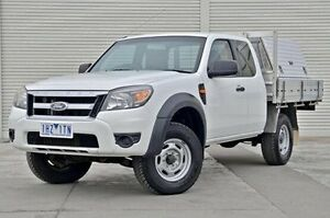 2011 Ford Ranger PK XL Super Cab Hi-Rider White 5 Speed Manual Cab Chassis Seaford Frankston Area Preview