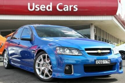 2010 Holden Commodore VE II SS V Redline Voodoo Blue 6 Speed Auto Seq Sportshift Sedan Liverpool Liverpool Area Preview