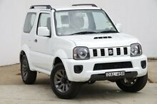 2015 Suzuki Jimny SN413 T6 Sierra White 4 Speed Automatic Hardtop Blacktown Blacktown Area Preview