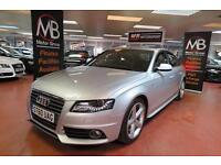 2011 AUDI A4 2.0 TDI 143 S LINE 6Sp Voice Command Bluetooth LED Xenons