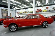 1964 Ford Mustang  Red 3 Speed Automatic Coupe Port Melbourne Port Phillip Preview
