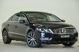 2012 Volkswagen CC Type 3CC MY13 125TDI DSG Black 6 Speed Sports Automatic Dual Clutch Coupe Mascot Rockdale Area Preview