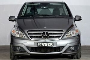 2009 Mercedes-Benz B200 W245 MY09 Grey 7 Speed Constant Variable Hatchback Alexandria Inner Sydney Preview