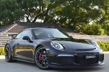 2015 Porsche 911 991 MY15 GT3 Black 7 Speed 7 Sports Automatic Dual Clutch Coupe Burwood Burwood Area Preview