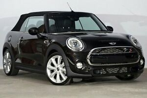 2015 Mini Convertible F57 Cooper S Midnight Black 6 Speed Manual Convertible Alexandria Inner Sydney Preview