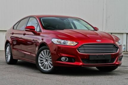 2015 Ford Mondeo MD Trend SelectShift Ruby Red 6 Speed Auto Seq Sportshift Hatchback East Rockingham Rockingham Area Preview