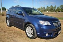 2011 Subaru Tribeca B9 MY11 R AWD Premium Pack Blue 5 Speed Sports Automatic Wagon Vincent Townsville City Preview