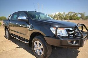 2015 Ford Ranger PX XLT Double Cab Black 6 Speed Sports Automatic Utility Vincent Townsville City Preview