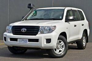 2015 Toyota Landcruiser VDJ200R MY13 GX White 6 Speed Sports Automatic Wagon Cranbourne Casey Area Preview