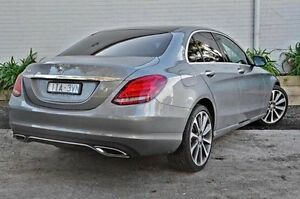 2016 Mercedes-Benz C250 205 MY16 Silver 7 Speed Sports Automatic Sedan Burwood Whitehorse Area Preview