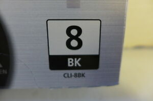 Canon ink cartridge CLi-8BK West Island Greater Montréal image 2