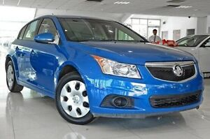 2012 Holden Cruze JH Series II MY12 CD Blue 6 Speed Sports Automatic Hatchback Dandenong Greater Dandenong Preview