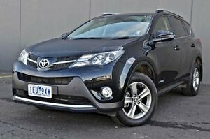 2015 Toyota RAV4 Black Sports Automatic Wagon Cranbourne Casey Area Preview