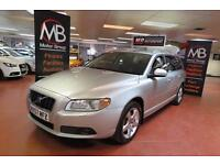 2007 VOLVO V70 D5 SE Lux Geartronic Auto Sat Nav Full Leather Sport Seats Xenons