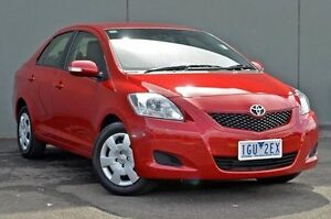 2015 Toyota Yaris Red Automatic Sedan Cranbourne Casey Area Preview