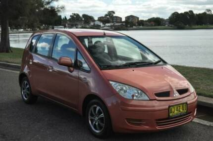 2005 Mitsubishi Colt RG LS Bronze Continuous Variable Hatchback