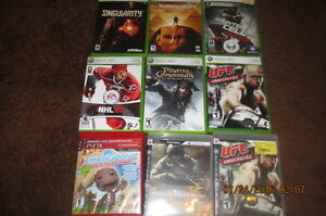 Xbox 360 and ps3 video games