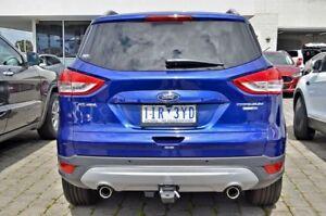 2016 Ford Kuga TF MY16.5 Titanium PwrShift AWD Blue 6 Speed Sports Automatic Dual Clutch Wagon