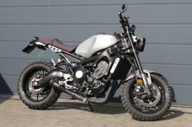 Yamaha XSR 900 ABS 2017 motorbike cafe racer scrambler motorcycle