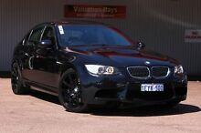 2009 BMW M3 E90 MY10 M-DCT Black 7 Speed Sports Automatic Dual Clutch Sedan Northbridge Perth City Preview