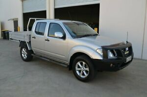 2012 Nissan Navara D40 MY12 ST (4x4) Silver 5 Speed Automatic Dual Cab Pick-up Brompton Charles Sturt Area Preview