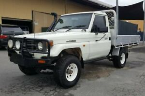 1997 Toyota Landcruiser HZJ75RP (4x4) 5 Speed Manual 4x4 Cab Chassis