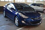 2011 Hyundai Elantra MD Elite Blue 6 Speed Sports Automatic Sedan Brompton Charles Sturt Area Preview