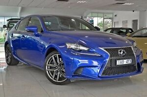 2013 Lexus IS350 GSE31R F Sport Blue 8 Speed Sports Automatic Sedan Dandenong Greater Dandenong Preview