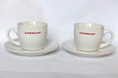 Starbucks Tea Espresso Coffee Cup and Saucer Pair Collectible Gift