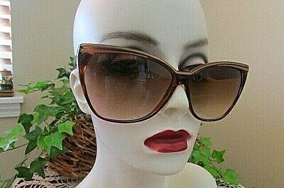 Solargenics brown gold trim Sunglasses (Solargenics Sunglasses)