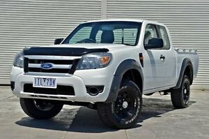 2011 Ford Ranger PK XL Super Cab Hi-Rider White 5 Speed Manual Utility Seaford Frankston Area Preview