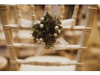 Mini Christmas Wreaths - home or wedding decor