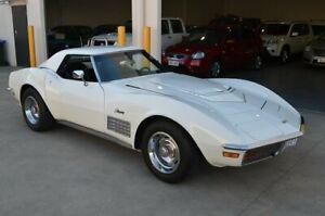 1971 Chevrolet Corvette C3 Stingray White 3 Speed Automatic Brompton Charles Sturt Area Preview
